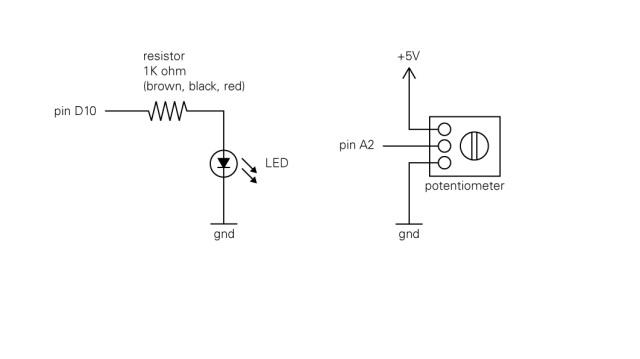 [DIAGRAM_38DE]  Arduino – LED & Potentiometer   Matt Wiechec's Blog   Led Potentiometer Wiring Diagram      Matt Wiechec's Blog - WordPress.com