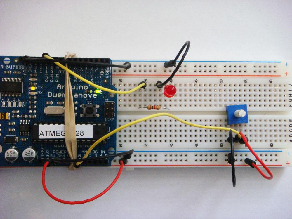 Arduino PWM Signal Generator - Electronic Circuit