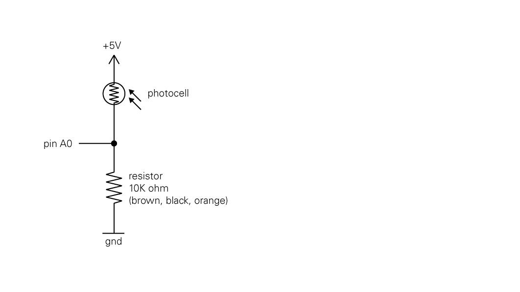 Arduino – Photocell   Matt Wiechec\'s Blog